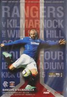 Rangers FC - Kilmarnock FC The Scottish Cup programme (30.11.2014)