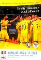 Romania - Faroe Islands (29.03.2015) - Official Euro 2016 qualification match programme