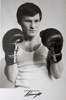 Ryszard Tomczyk (boxing) - The Poland Champion 1975 lightweight postcard