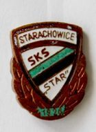 SKS Star Starachowice with bronze garland (lacquer)