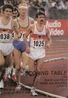 Scoring table for track and field road and walking events (1987)