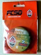 Shakhtar Donetsk - SK Rapid Wien UEFA Champions League qualification badge (19 and 25.08.2015)