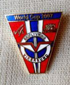 Ski flights World Cup Vikersund 2007 badge