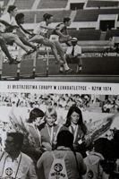 Teresa Nowakowa (athletics) - The Bronze medalist of XI European Championships Rome 1974