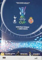 Tottenham Hotspur - Wisla Cracow UEFA Cup match programme (18.09.2008)