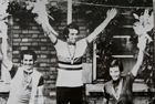 UCI Road World Championships 1974 medalists of amateur road race postcard