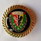 WKS Slask Wroclaw badge (with golden rim)