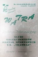 """Watra"" - Bulletin of Sport Collectors Association TS Tramwaj nr 2(9)/1995"