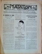 "Weekly Magazine ""Natation"" (France) - nr 279/13.08.1927"