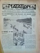 "Weekly Magazine ""Natation"" (France) - nr 280/20.08.1927"