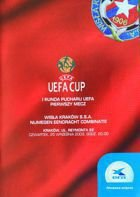 Wisla Cracow - NEC Nijmegen (25.09.2003) - UEFA Cup First Round match programme