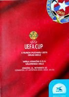 Wisla Cracow - Valerengens IF UEFA Cup match official programme (27.112003)