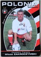 Witold Zakroczymski (Polonia Warsaw coach assistant, 2001/2002 season) photo