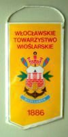 Wloclawek Rowing Association pennant