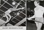 Wojciech Buciarski (athletics) - The Polish indoor record-holder of pole vault postcard