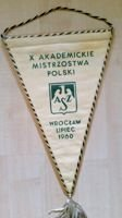 X Poland Sport Academic Championships (Wroclaw 1960) pennant