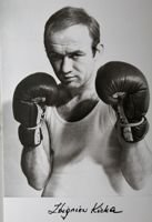 Zbigniew Kicka (boxing) - Bronze medalist of World Championships 1974 welterweight postcard
