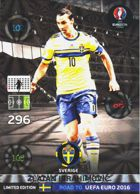 Zlatan Ibrahimovic - Sweden (limited)