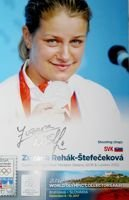 Zuzana Rehak-Stefecekova (shooting) - Double Olympic Silver Medalist Bejing 2008 & London 2012 (with original autograph)