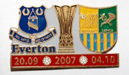 Everton FC - Metalist Kharkiv UEFA Cup matches 20.09 and 04.10.2007 (lacquer)