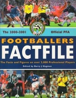 Footballers Factfile 2000-2001 - Official PFA