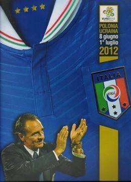 Italy at Euro 2012 - the official publication of the Italian federation