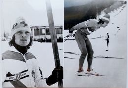 Marek Pach (Nordic combined) XII Winter Olympic Games Innsbruck 1976 postcard