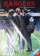 Program Glasgow Rangers - Celtic Glasgow Premier Division (01.01.1987)