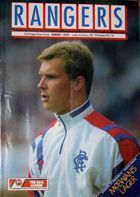 Program Glasgow Rangers - Celtic Glasgow Premier Division (03.01.1989)