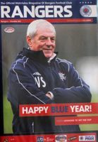 Program Glasgow Rangers - Dundee United Premier League (06.01.2008)