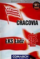Program KS Cracovia - ŁKS Łódź Orange Ekstraklasa (15.09.2006)