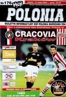 Program Polonia Warszawa - KS Cracovia Idea Ekstraklasa (13.05.2005)