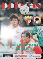Program Slavia Praga - AS Roma Puchar UEFA (05.03.1996)