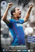 Program meczowy Rangers - Forfar Athletic 03.12.2013 Ready