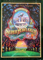XXVIII Super Bowl. Oficjalny Program (30.01.1994)