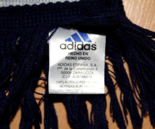 14f83e046 Szalik Real Madryt adidas | Szaliki \ Zagraniczne | Antykwariat ...
