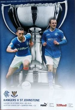 Program Rangers - ST Johnstone 28.10.2014