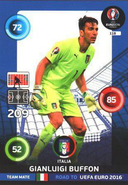 Gianluigi Buffon - Włochy (nr 118 - Team Mate)
