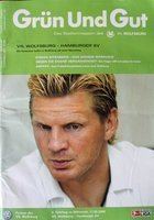 Program VfL Wolfsburg - Hamburger SV Bundesliga (11.09.2002)