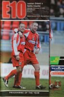 Leyton Orient - Notts County (31.12.2005) - League Two