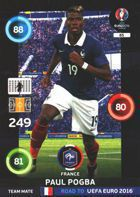 Paul Pogba - Francja (nr 85 - Team Mate)
