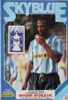Program Coventry City - Wigan Athletic Puchar Anglii (05.01.1991)