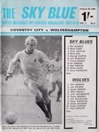 Program Coventry City - Wolverhampton Wanderers Division One (30.08.1969)