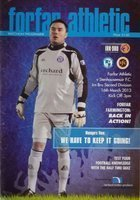 Program Forfar Athletic - Stenhousemuir FC Second Division (16.03.2013)