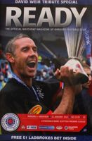 Program Glasgow Rangers - Aberdeen FC Premier League (21.01.2012)