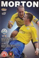 Program Greenock Morton - Hamilton Academical Championship (10.11.2012) , Greenock Morton - Albion Rovers Puchar Szkocji (13.11.2012)