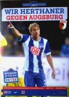 Program Hertha BSC Berlin - FC Augsburg (28.02.2015) - Bundesliga