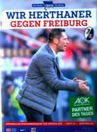 Program Hertha BSC Berlin - SC Freiburg (15.02.2015) - Bundesliga