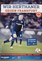 Program Hertha Berlin - Eintracht Frankfurt Bundesliga (02.03.2016)