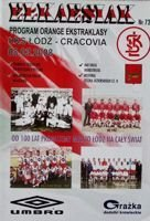 Program ŁKS Łódź - KS Cracovia Orange Ekstraklasa (08.03.2008)